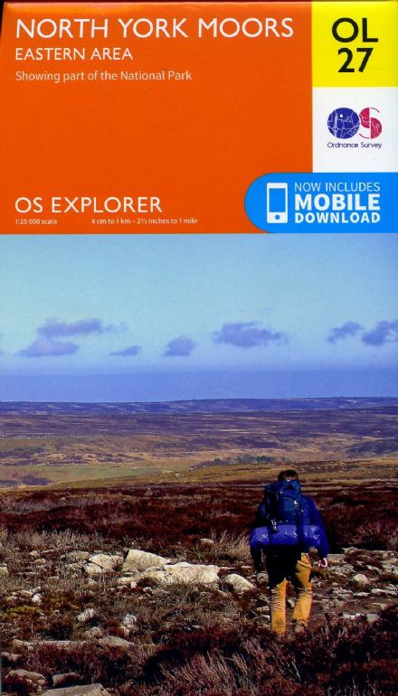 OS Explorer OL 27 North York Moors - Eastern Area